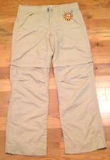 NWT Magellan Sportswear UPF 20+ Khaki CONVERTIBLE Pants Shorts Womens 8