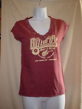 American Eagle Short Sleeve Lace T-Shirt Rust XLarge  NWOT