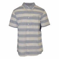 Rip Curl Men's Stripe S/S Woven Shirt (Retail $55)