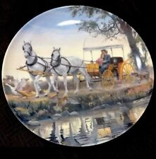 """Vintage ~ edwin m. knowles china - """"The Surrey With The Fridge On Top�"""
