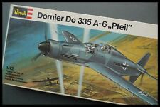Vintage REVELL 1/72 Dornier Do335 A-6 Pfeil / Arrow Model Kit