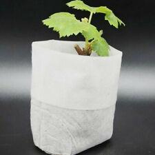 100Pcs Nursery Pots Seed-Raising Bags Non-woven Fabrics Garden Supply 8x10cm