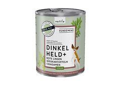 naftie Bio Dinkel Held+ veganes Hundefutter Nassfutter Menü, 6x800g