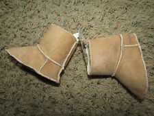 NEW BABY GAP SHERPA SUEDE BOOTIES BOOTS SHOES BABY 0-3 MONTHS
