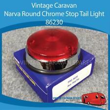 Caravan, NARVA ROUND CHROME STOP TAIL LIGHT 86230  Vintage Viscount E0128