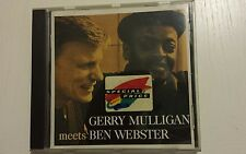 CD JAZZ- GERRY MULLIGAN  MEETS BEN WEBMASTER