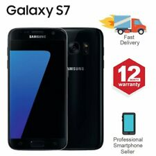 SAMSUNG GALAXY S7 32GB Unlocked 4G SIM Android Mobile Phone Black
