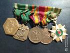 PL) Placard de médailles militaires américaines époque VIETNAM medal