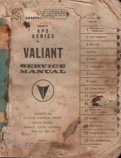 VALIANT AP5 SERIES SERVICE MANUAL~ 1963