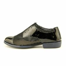 "Low 3/4"" to 1 1/2"" Women's Patent Leather Flats"