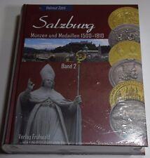 Salzburg Münzen und Medaillen 1500-1810 Helmut Zöttl Band 2 Verlag Frühwald NEU