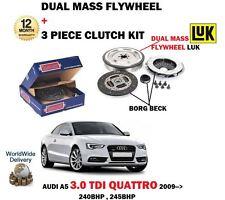 FOR AUDI A5 3.0 TDI QUATTRO 240BHP 245BHP 2008  DUAL MASS FLYWHEEL + CLUTCH KIT