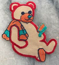 Embroidered Bear Patch Sew Iron On Patch D.I.Y. Craft Applique Bear Batch