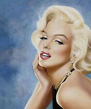 Marilyn Monroe Pin Up Art - 8 x 10 Photo Print