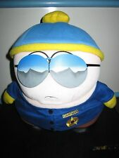 SOUTH PARK LIMITED EDITION OFFICER CARTMAN PLUSH TOY DOLL FIGURE BY FUN 4 ALL