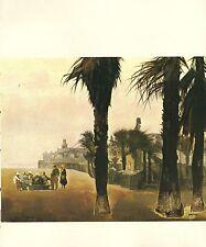 "1970 Vintage CALIFORNIA Full Color Art Plate ""VENICE"" BEACH McIntyre Lithograph"