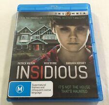 Insidious 2010 Film Dvd Blu Ray Movies For Sale Ebay