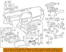 Lexus TOYOTA OEM 03-09 GX470 Dash Instrument Panel-Light Bulb 9001101002