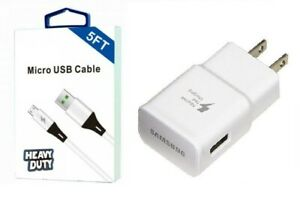 SAMSUNG FAST CHARGER+5 FEET MICRO USB FOR SAMSUNG GALAXY J2/J2 CORE/PURE/DASH