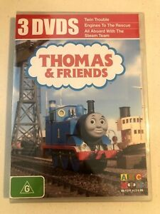 ABC For Kids Thomas & Friends Triple Pack dvd New and Sealed + FREE POST