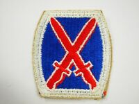U.S.Army 10th Infantry Division Shoulder Patch WWII