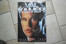 Val Kilmer Kalender 1998,ovp in Folie, 42 x 30 cm Posterkalender