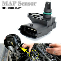 MAP Manifold Intake Air Pressure Sensor 0281002437 For Ford Ranger Mazda BT-50