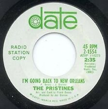 PRISTINES - I'M GOING BACK TO NEW ORLEANS - DATE - PRO