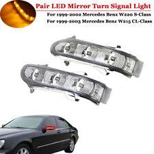 Paar Aussenspiegel Blinker Spiegelblinker Für Mercedes-Benz W220 W215 S/CL-CLASS