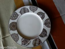 LENOX FEDERAL PLATINUM CHRISTMAS ORNAMENTS PLATE LUNCH LUNCHEON SALAD