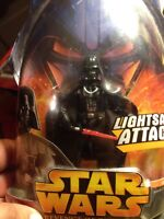 "Star Wars:Darth Vader #11 Ep III Revenge of the Sith 3.57"" Action Figure 2005 B2"
