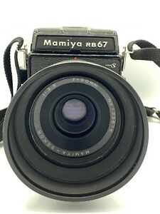 MAMIYA RB67 Pro S + SEKOR 90mm f/3.8 120FilmBack PROFESSIONAL S