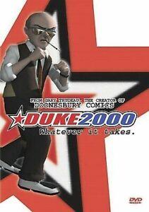 Duke 2000 - Whatever It Takes (DVD) 36 animated short - Garry Trudeau Doonesbury