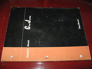 Cummins C_J Series Natural_Turbo_Supercharged Diesel Engines Shop Manual_ca1965