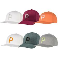 NEW Men's 2019 Puma P 110 Snapback Golf Hat Cap Adjustable OSFM - Choose Color!