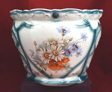 Antique Grimwade Brothers Large Cache Pot, Staffordshire, England, Ca. 1890's