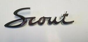 61 62 63 64 65 66 67 68 69 70 71 Scout Fender Emblem International NEW
