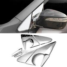 Chrome Side Mirror Holder Bracket Molding Cover For HYUNDAI 2010-15 Tucson ix35