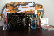 Napoleon Perdis 7 Pieces Gift Set - Radiance Booster Primer,Blush,Lip Gloss,Bag