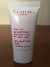 SET 3 Clarins Beauty Flash Balm 0.5 oz / 15 ml Travel Size Baume Beaute Eclair