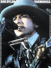 Bob Dylan Harmonica Learn to Play Pop Rock Folk Songs Music Book PLAYER PRESENT