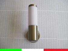 APPLIQUE LAMPADA DA PARETE PER ESTERNI IN ACCIAIO IMPERMEABILE ip65 E3