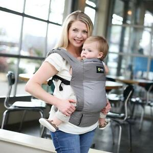 BOBA 4G Baby Front & Back Carrier From Birth (7-45lbs) - DUSK