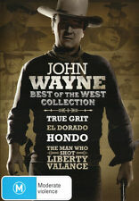 John Wayne : Best Of The West Collection - (4-Disc Set) - NEW DVD - Region 4