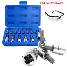 Neiko 10071A 13-Piece Torx Bit Cr-V T-Socket Set/ free Dewalt safety Glasses