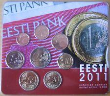 MDS Estonia euro-kms 2011 con holograma € en blíster