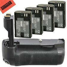 Battery Grip Kit for Canon EOS 7D Digital SLR Camera Includes Qty 4...
