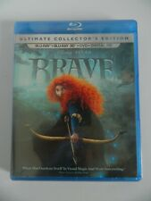New Disney's Pixar BRAVE Ultimate Collector's Edition 3D Blu-ray, Blu-ray, DVD