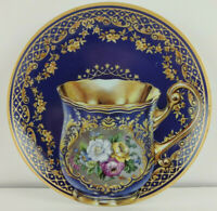 Treasures of Russian Tradition 5 3/4 Collector Plate Cobalt Majesty Makarova