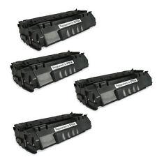 4-Pk/Pack HP Q7553A 53A Toner For HP LASERJET P2015 M2727 MFP M2727nf MFP P2015d